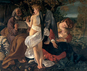 Rest on the Flight into Egypt (Caravaggio) - Image: Michelangelo Caravaggio 025