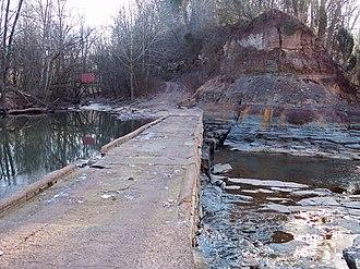 The Jug - Image: Middle Island Creek Jug bridge