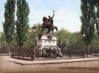 Bucharest - Historical monument dedicated to Michael the Brave