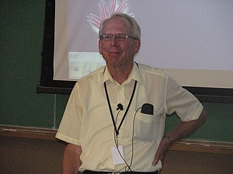 G. Michael Bancroft - Bancroft at the Canadian Light Source summer school in July 2012