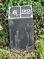 Milepost 8 on the Ashby Canal - geograph.org.uk - 1431476.jpg