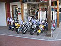 Mini-Motorcycles in Puerto Banus 2005.jpg