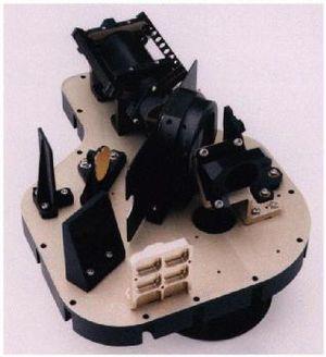 Mini-TES - Image: Mini TES on mars rovers