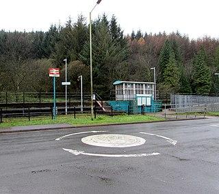 Ynyswen railway station Railway station in Rhondda Cynon Taff, Wales