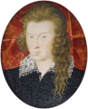 Miniature of Henry Wriothesley, 3rd Earl of Southampton, 1594. (Fitzwilliam Museum) cropped.png