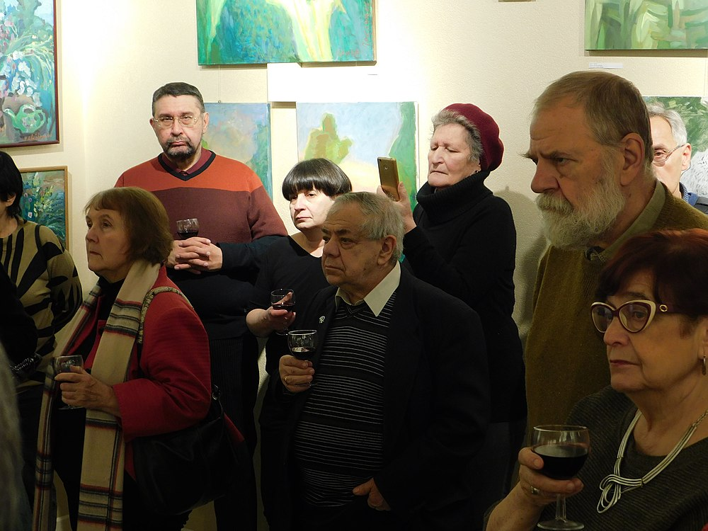 Minima gallery opening (Green collisions; 2018-12-01) 22.jpg