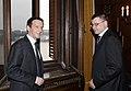 Ministru prezidents Valdis Dombrovskis tiekas ar Ungārijas premjerministru Gordonu Bajnai (3663988085).jpg