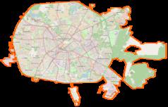 Mapa lokalizacyjna Mińska