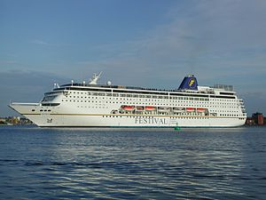 Costa neoRiviera - Costa neoRiviera as Mistral in Kiel Harbour, May 2003