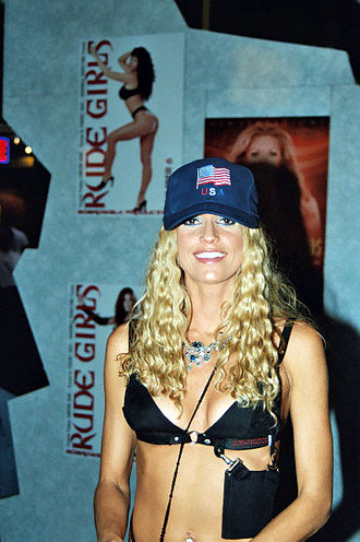 Misty Rain - At the 2003 Adult Entertainment Expo