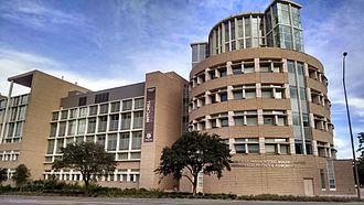 George P. Mitchell - Image: Mitchell Physics Building