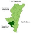 Miyakonojo in Miyazaki Prefecture.png
