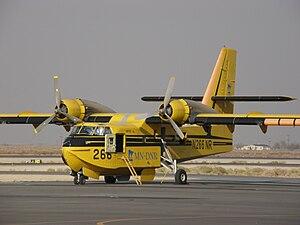 Super Scooper - A Canadair CL-215.