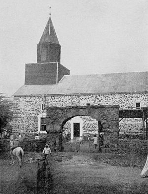 Mokuaikaua Church - Image: Mokuaikaua Church Kona 1900