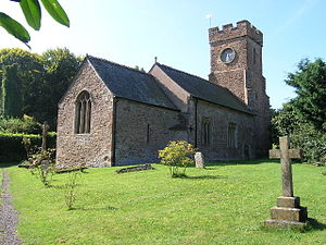 Grade I listed buildings in West Somerset - Image: Monksilverchurch