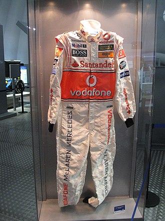 Racing suit - Image: Mono Fernando Alonso