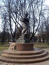 Monument of Taras Shevchenko in Minsk 02.jpg