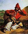 Monvoisin, Raymond - Soldado de la guardia de Rosas -1842.jpg