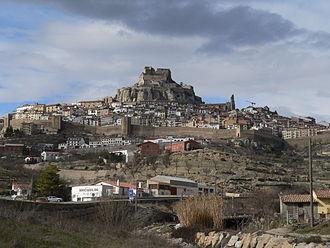 Ports de Morella - View of Morella