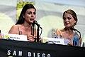 Morena Baccarin & Melissa Benoist (28348158870).jpg