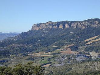 Güel - Morrón de Güell, serra d'Esdolomada