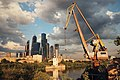 Moscow, view from Shelepikhinsky Bridge (20626539833).jpg