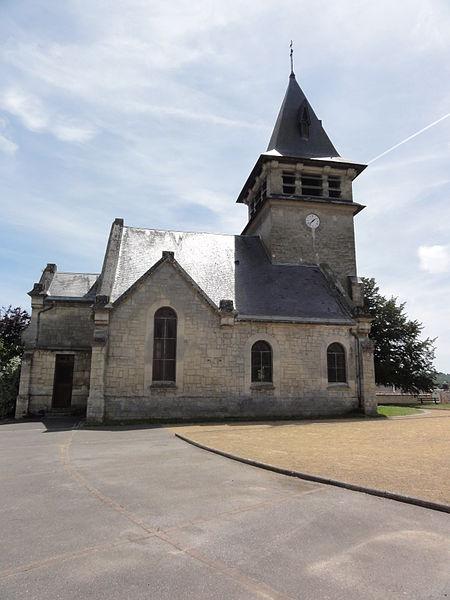 Moulins (Aisne) église