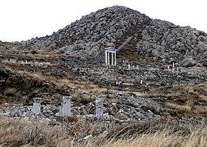 Cynthus - Mount Cynthus in Delos