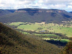 Mount Piddington - A view from Mount Piddington, looking southeast