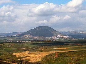 Vue du mont Thabor.