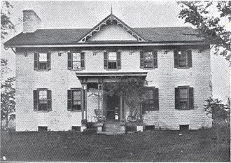 James Garrard - Mount Lebanon, Garrard's Bourbon County estate