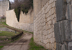 Amelia, Umbria - Polygonal masonry walls in Amelia.
