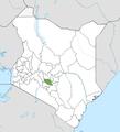Muranga County location map.png