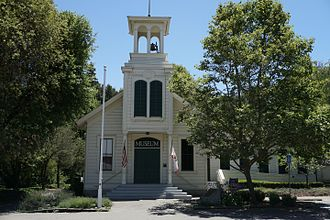 Dublin, California - The Murray Schoolhouse was built in 1856 and moved twice to its present location in the Dublin Heritage Center.