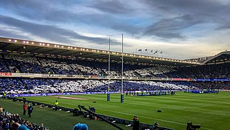 Murrayfield Stadium - Murrayfield, the home of Scottish rugby union.