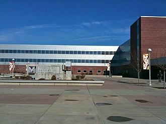 Murray High School (Utah) - Murray High School's main entrance and plaza
