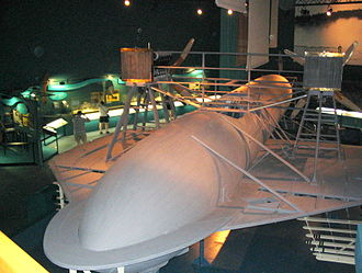 HD-4 - HD-4 hydrofoil at the Alexander Graham Bell museum