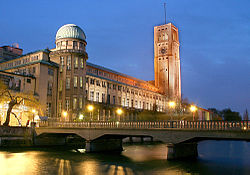 Central building of the Deutsches Museum