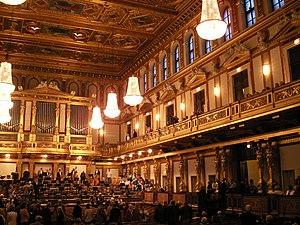 Vienna New Year's Concert - Image: Musikverein Wien 3