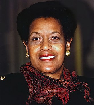 Myrlie Evers-Williams - Evers-Williams in 2000