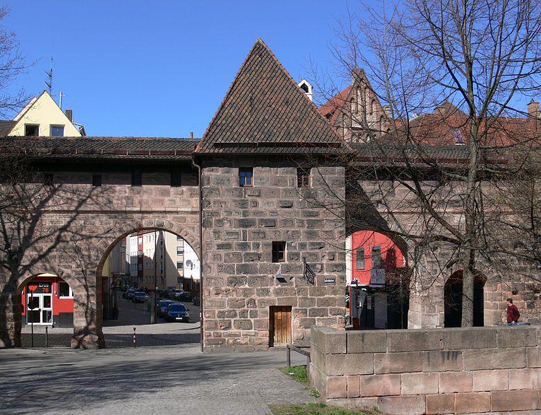 Frauentormauer Nürnberg