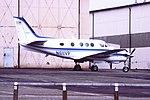 N611VP King Air CVT 05-03-1988 (42221150610).jpg