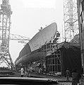NDSM nieuwe onderzeeboot jager Friesland op helling, Bestanddeelnr 905-5594.jpg