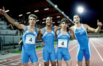 Italian national track relay team - A 4x100 m relay Italian team, that obtained Under 23 national record, with 39.05, in Florence on 4 June 2006.
