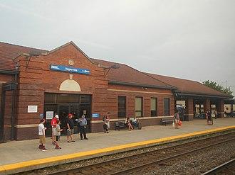 Naperville station - Image: Naperville Station