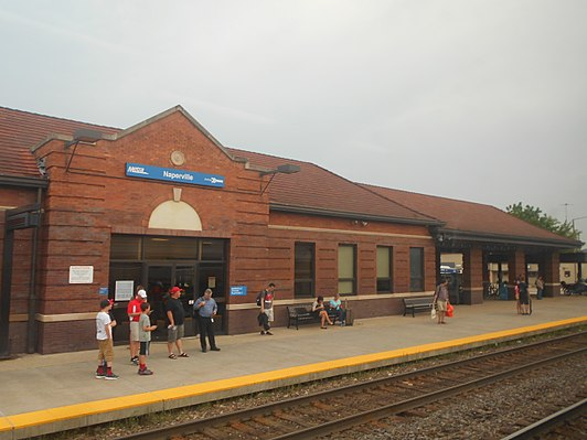Naperville station