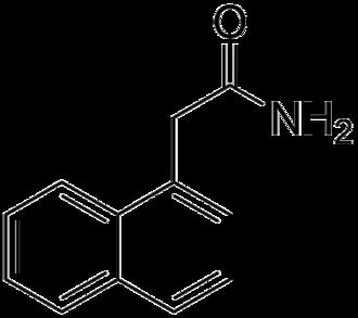 1-Naphthaleneacetamide - Image: Naphthaleneacetamide
