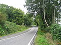 Narrow section of road entering Tighnabruaich. - geograph.org.uk - 550158.jpg