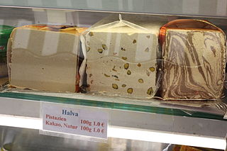Halva Middle-eastern confectionary