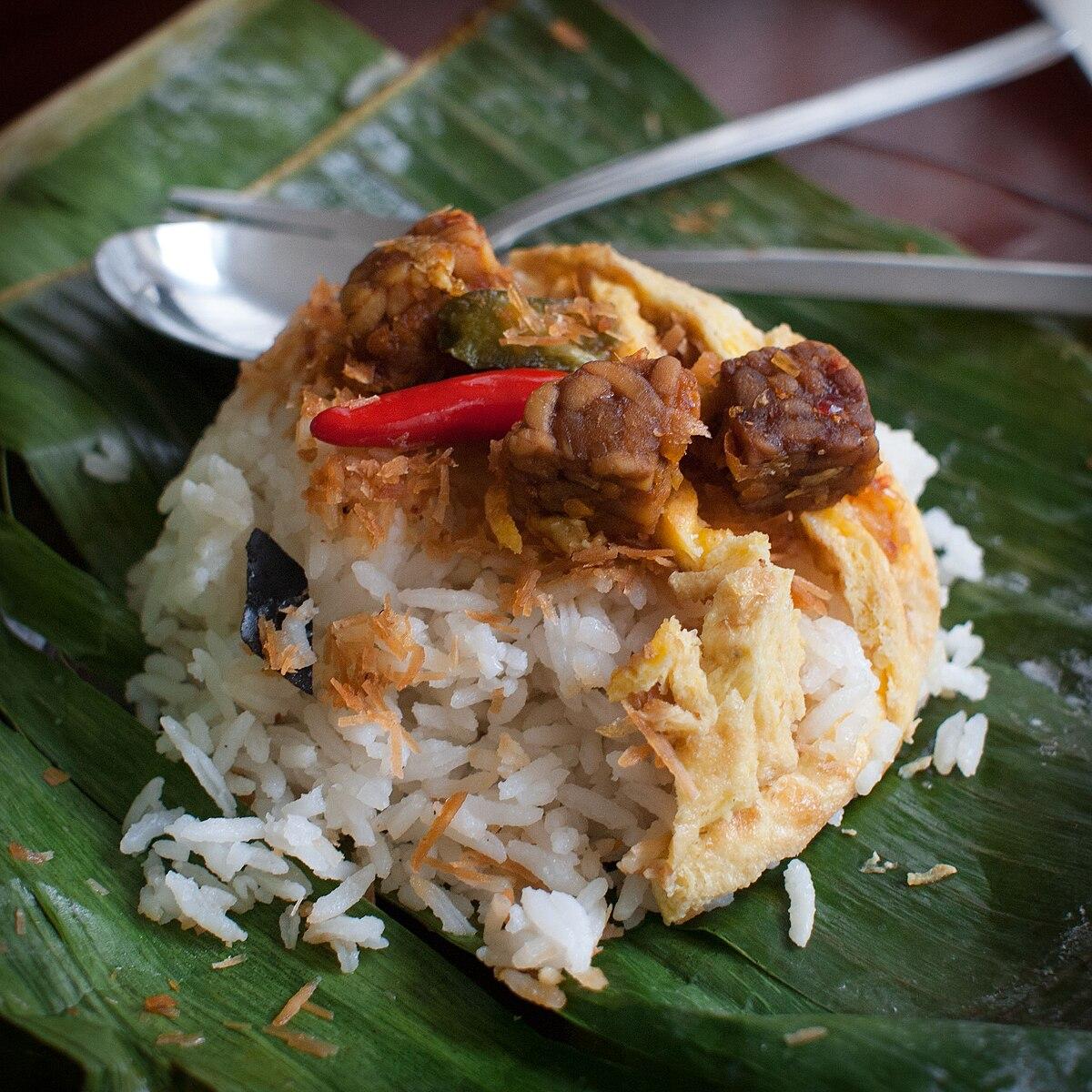 Nasi uduk - Wikipedia